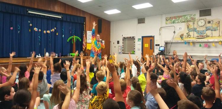 "Haughton Library Branch welcomes ""Science Tellers"" - an action packed alien adventure for kids"