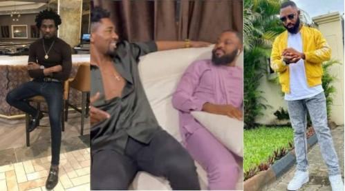 """""""This Makes No Sense"""" – Reactions As BBNaija's Tega Husband & Boma Meet And Chill Together (VIDEO)"""