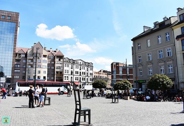 Plac Bohaterów Getta, Cracovia