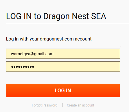 Cara Top Up Eye Cash Dragon Nest Sea Warnetgea Com Online Gaming Browsing