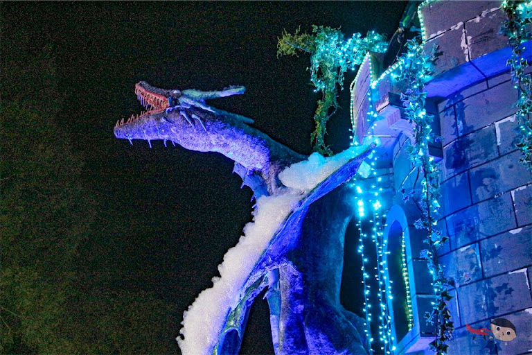 Dragons in Christmas Village, Baguio City