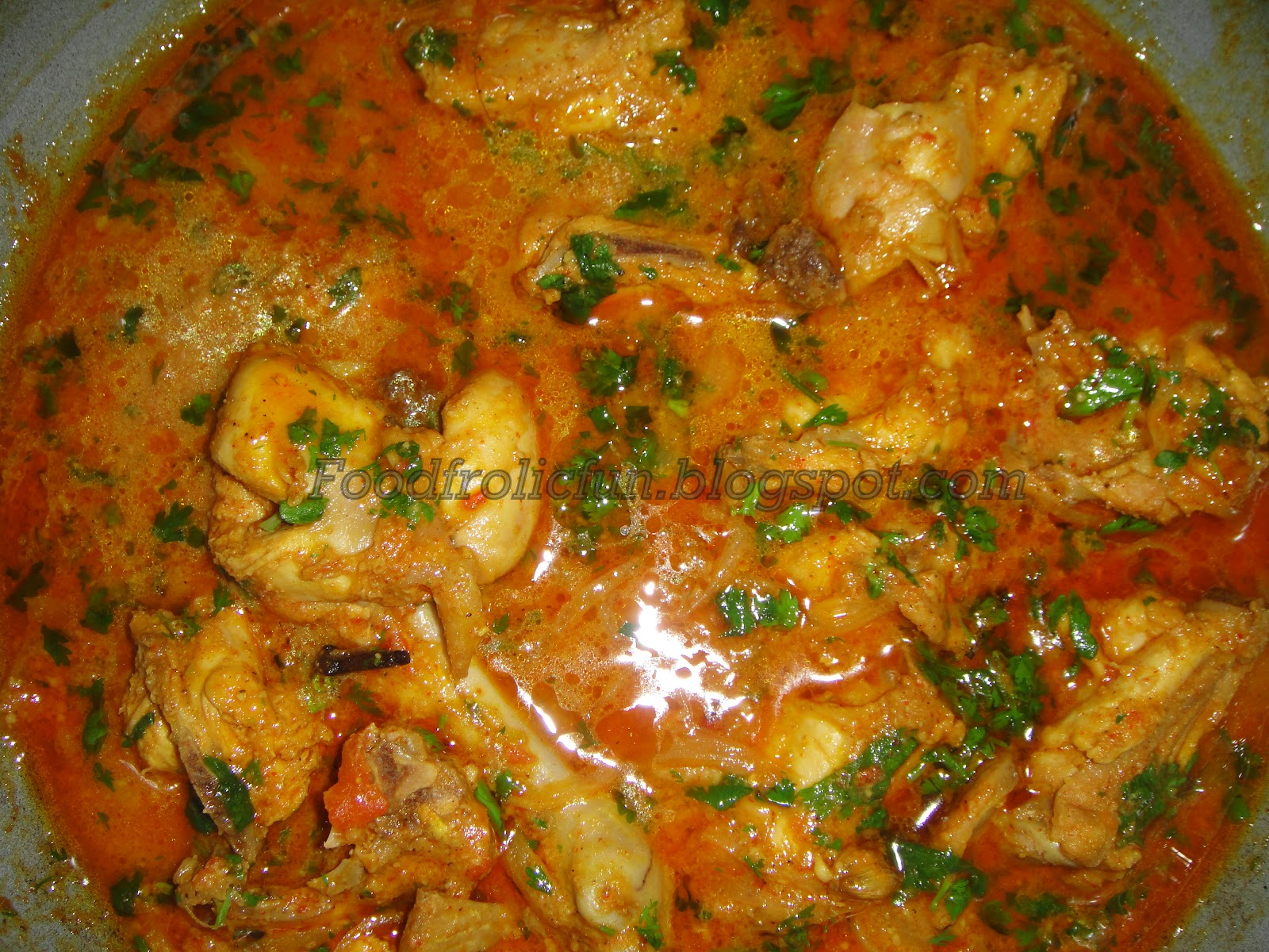 Indian Culinary Delights Chicken In Yogurt Gravy