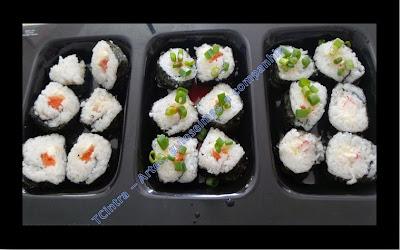 SUSHI MAKI; comida japonesa; frutos do mar