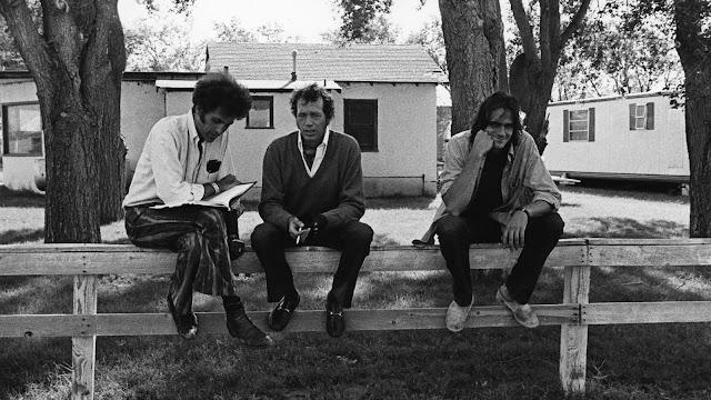 Filming Two-Lane Blacktop: Monte Hellman, Warren Oates and James Taylor