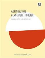 Frode Elgesem, Njål Høstmælingen: Næringsliv og menneskeretter., forside