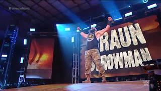 Braun Strowman at WrestleMania 36