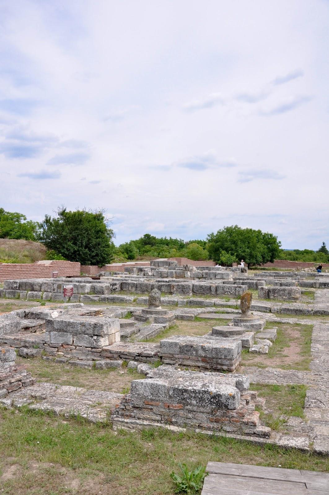 Historical ruins, Pliska, Bulgaria