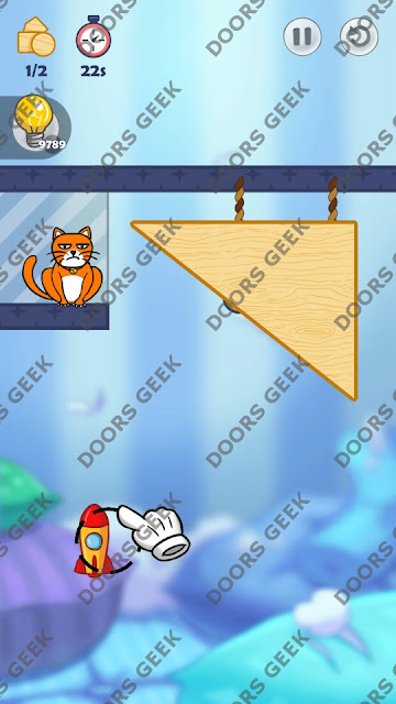 Hello Cats Level 143 Solution, Cheats, Walkthrough 3 Stars for Android and iOS
