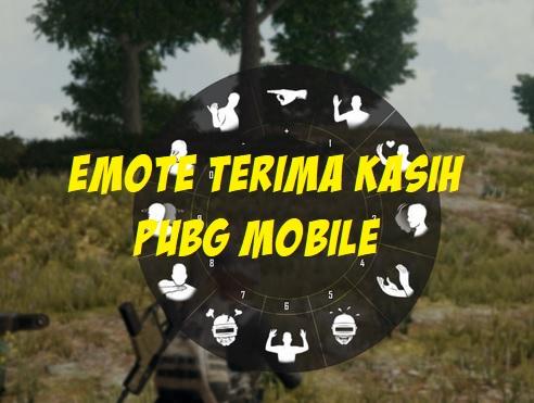 Cara Mendapatkan Emote Terima Kasih di PUBG Mobile