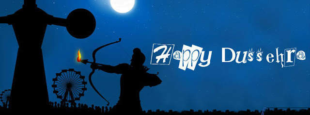 Download Happy Dussehra FB Cover Pics Free