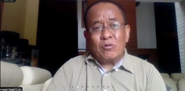 Banyak Yang Kritik Penghargaan STA DKI Jakarta, Said Didu: Pemerintah Pusat Janganlah Jadi Oposisi Anies!