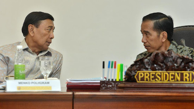 Wiranto ke Jokowi: Pak Saya Ingin Segera Pulang...