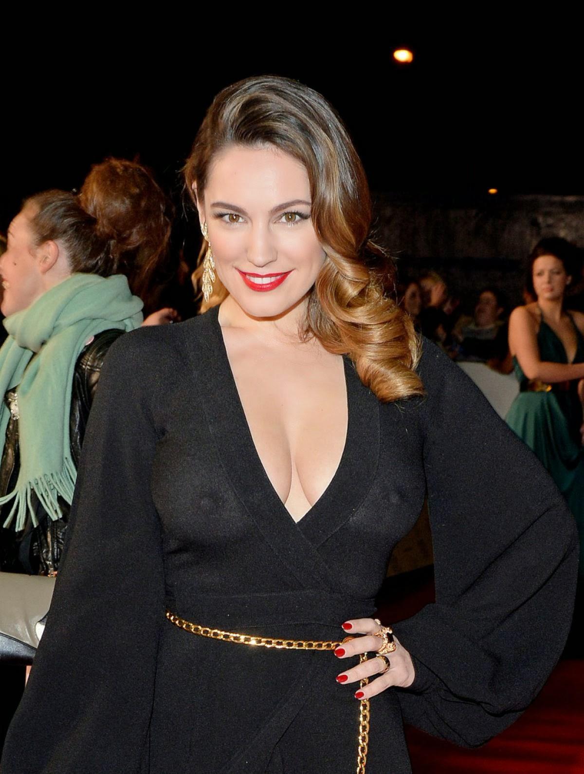 Kelly Brook at National Television Awards in London