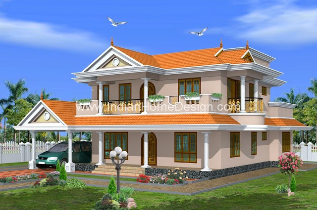 488 Sqft Traditional Kerala Style 48 Bedroom House Design From Green Cool Green Homes Designs Style