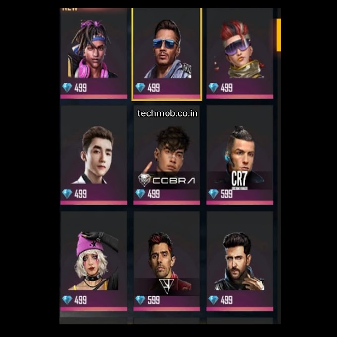 free fire character name : free fire all characters ability 2021