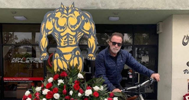 Arnold Schwarzenegger Refuses To Train At Gold's Gym Because Of The Lack Of Health And Protection Measures.