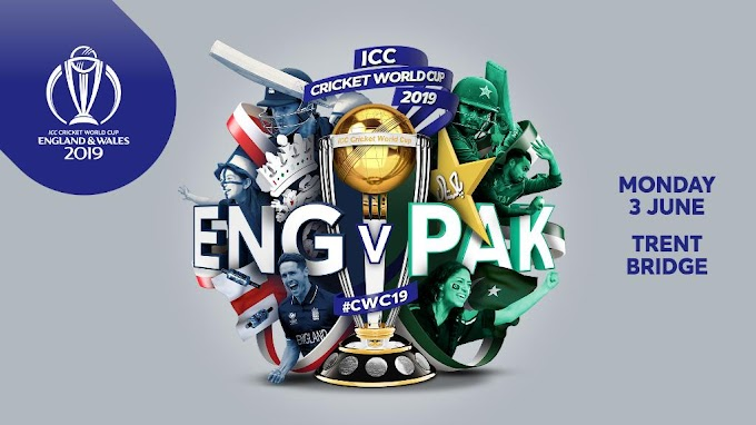England vs Pakistan Worldcup 2019 Scorecard Match 6 Photos