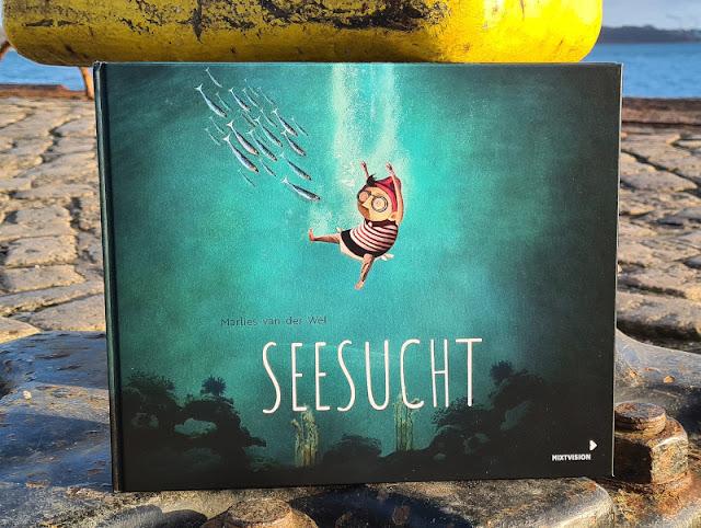 Meine Seesucht - meine Sehnsucht: Blogparade zu einem einzigartigen maritimen Kinderbuch. Der Traum vom Leben im Meer: Jonas verwirklicht ihn in diesem Bilderbuch.