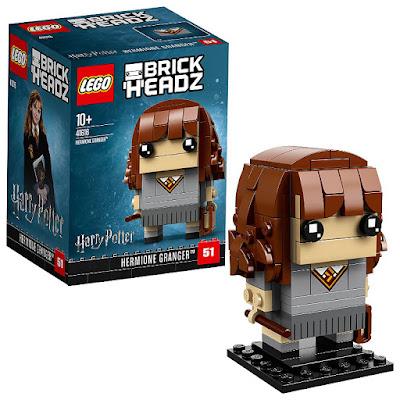 Toys : juguetes - LEGO Brickheadz 41616 Hermione Granger | Harry Potter  COMPRAR ESTE JUGUETE EN AMAZON ESPAÑA