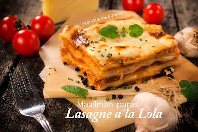 lolathefitnessbarbie lasagne resepti