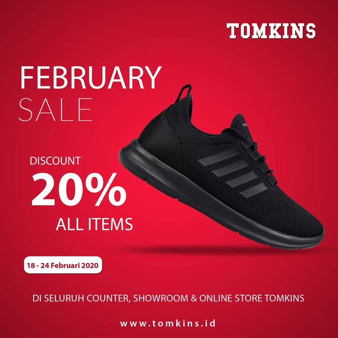 Promo Tomkins 18  - 24 FebruarI 2020