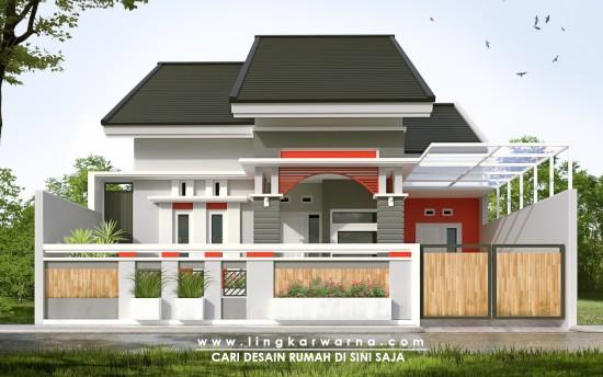 Lingkar Warna 15 Desain Pagar Rumah Minimalis Kekinian