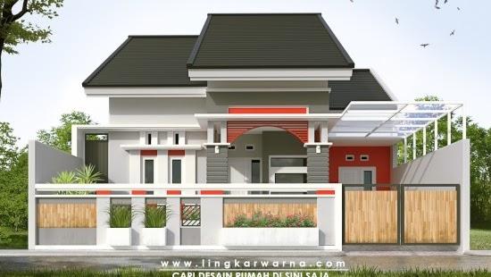 LINGKAR WARNA: 15 Desain Pagar Rumah Minimalis Kekinian