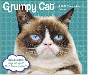 Grumpy Cat 2021 Day-to-Day Calendar