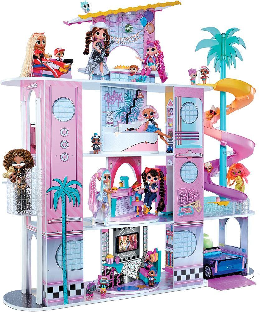 Кукольный дом Лол Сюрприз ОМГ 85 сюрпризов