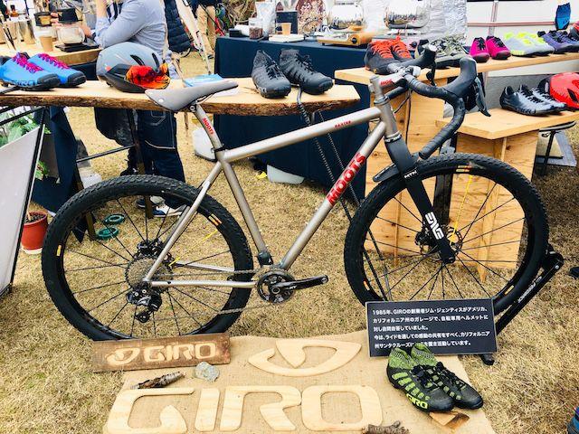 サイクルモードライド大阪2018のGIROブース