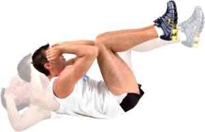 Abdominales ejercicio hombre rutina