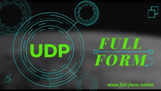 UDP Full Form in computer-full form of udp in networking