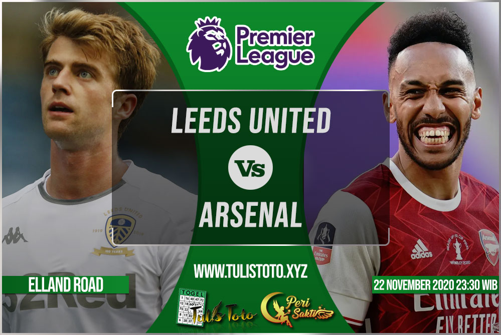 Prediksi Leeds United vs Arsenal 22 November 2020