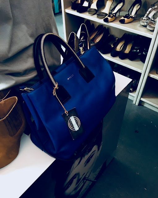 blue milly purse
