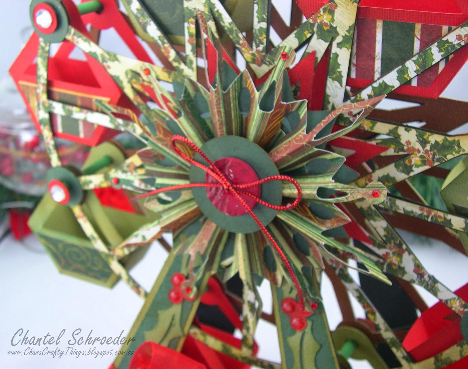 Chan's Crafty Things: Christmas Ferris Wheel