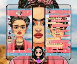 Lady Theme For YOWhatsApp & Fouad WhatsApp By Ariana