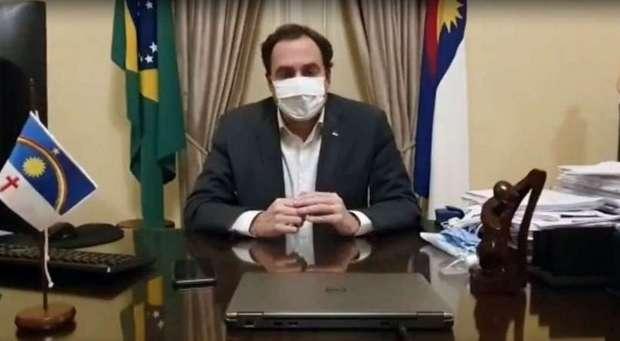 Governador Paulo Câmara testa positivo para coronavírus