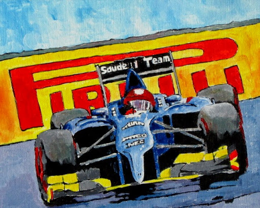 racing art | formula 1 | bruce docker