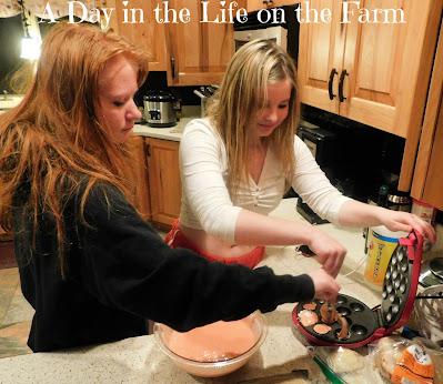 teens in kitchen
