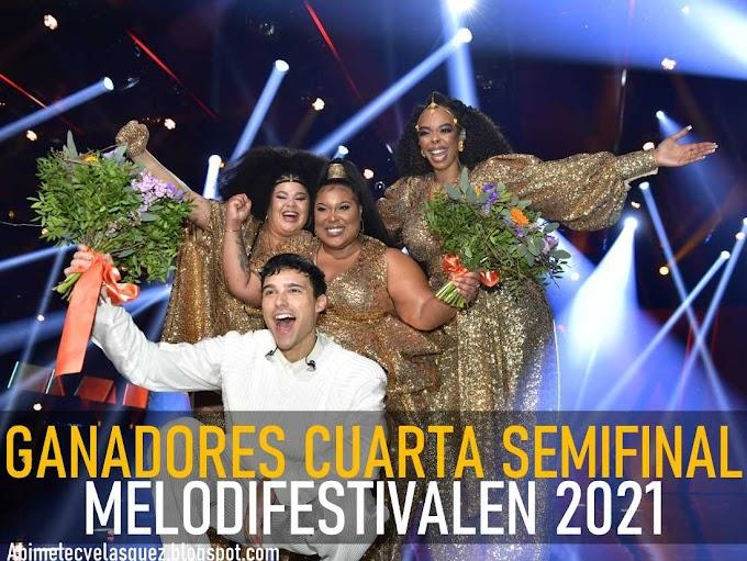 ERIC SAADE Y THE MAMAS GANAN LA CUARTA SEMIFINAL DEL MELODIFESTIVALEN 2021