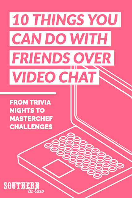 10 Thinga You Can Do With Friends Over a Video Call - Zoom Call Video Call Date Ideas