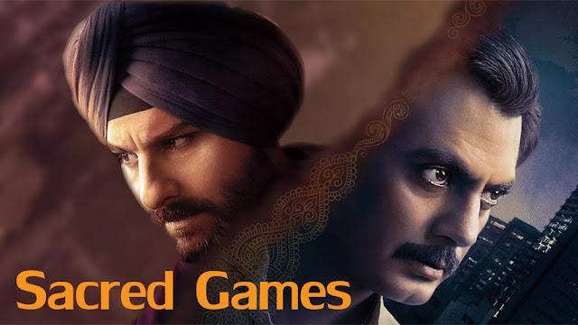 Indian Hindi web series Sacred games