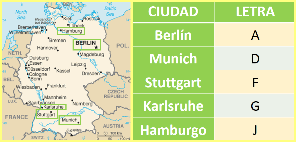 cecas alemanas