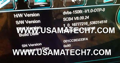 1506T SCB4 MENU HD RECEIVER AUTOROLL POWERVU NEW SOFTWARE UPDATE