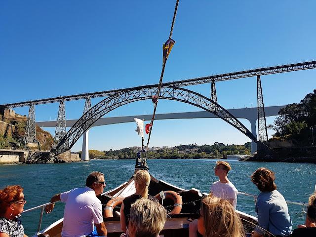 Porto med båt