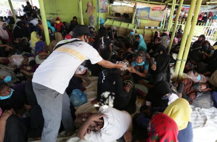 ACT Lampung Ajak Masyarakat Lampung Bantu Ratusan Pengungsi Rohingya di Aceh