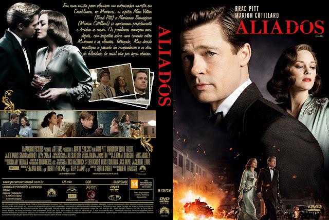 Capa DVD Aliados [Exclusiva]