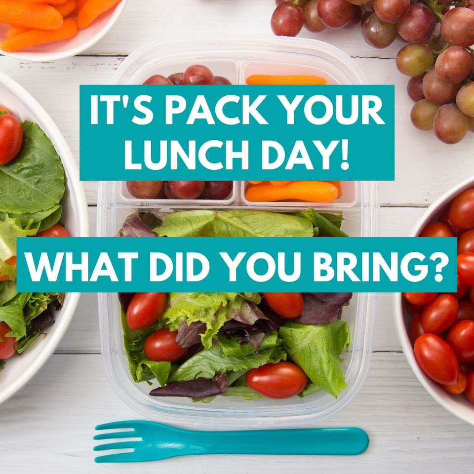 National Pack Your Lunch Day Wishes Beautiful Image