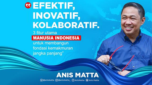 Anis Matta: Tiga Fitur Manusia Indonesia Menghadapi Krisis