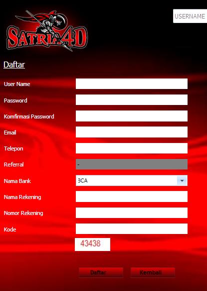 DAFTAR SATRIA4D.com